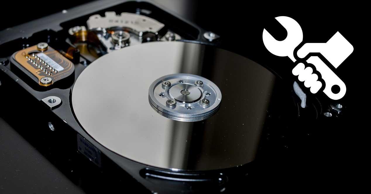 disco duro arreglar