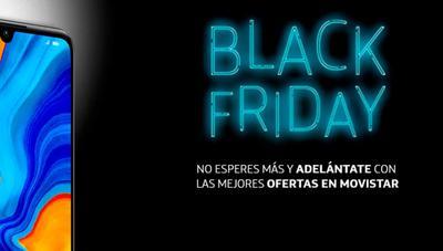 El Black Friday de Movistar con 50% en Fusión Base y móviles con 300 euros de descuento