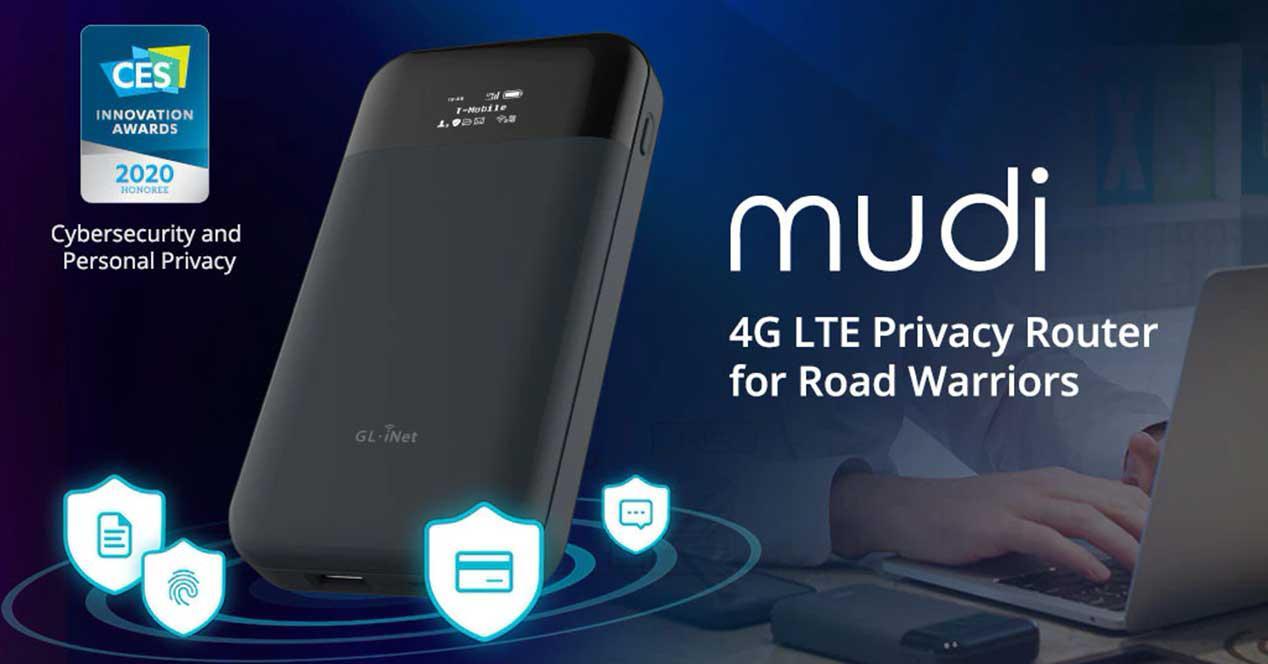 mudi router 4g tor
