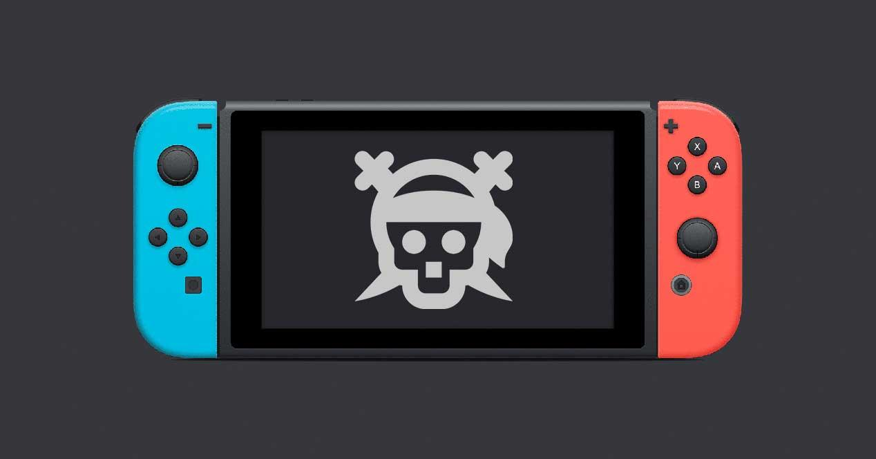 nintendo switch pirateria