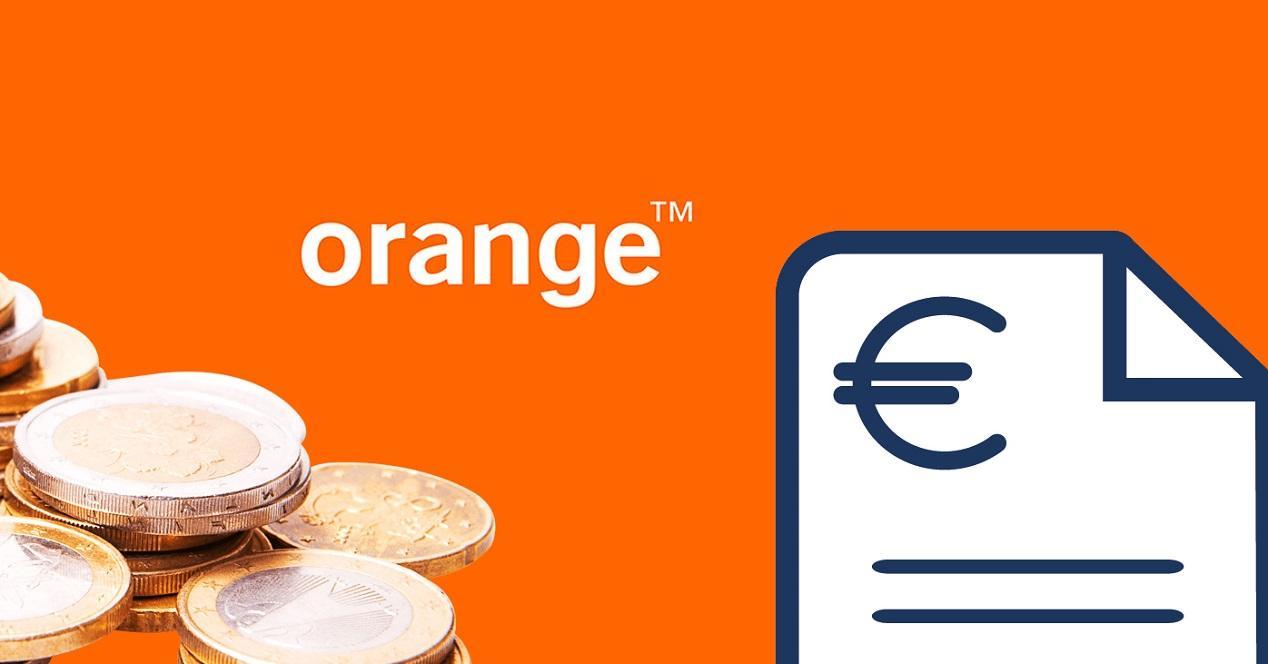 orange factura