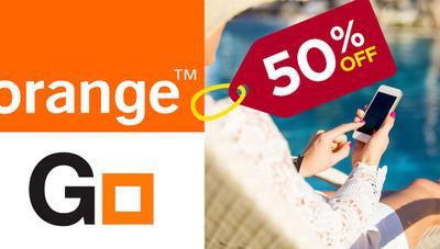 Tarifas móviles de Orange a mitad de precio con su nueva oferta
