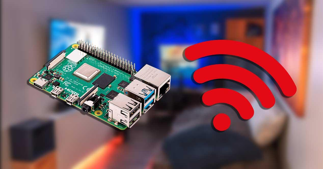 raspberry pi 4 wifi