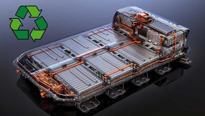 Por qué es tan difícil reciclar las baterías de los coches eléctricos