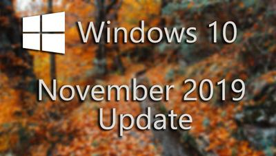 Windows 10 November 2019 Update ya disponible: todas sus novedades