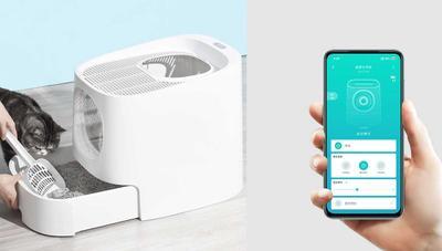 Xiaomi pone a la venta un arenero inteligente para gatos que evita los malos olores