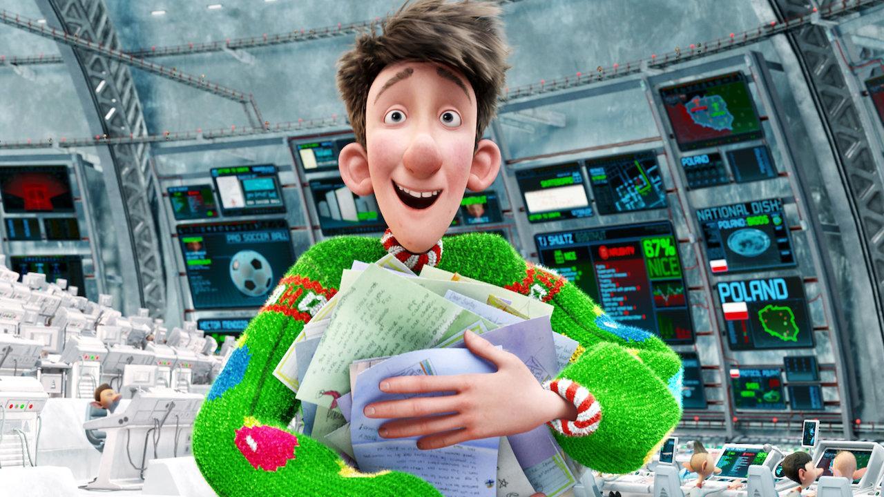 Athur Christmas - Operacion regalo - Mejores dibujos animados de Navidad
