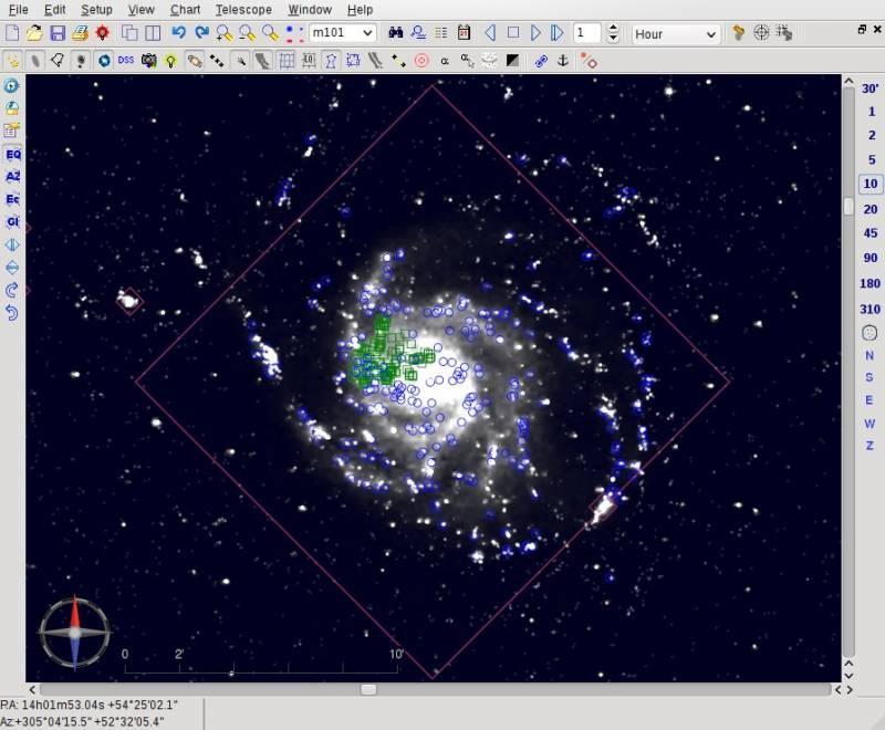 Cartes du ciel - Programas de astronomia