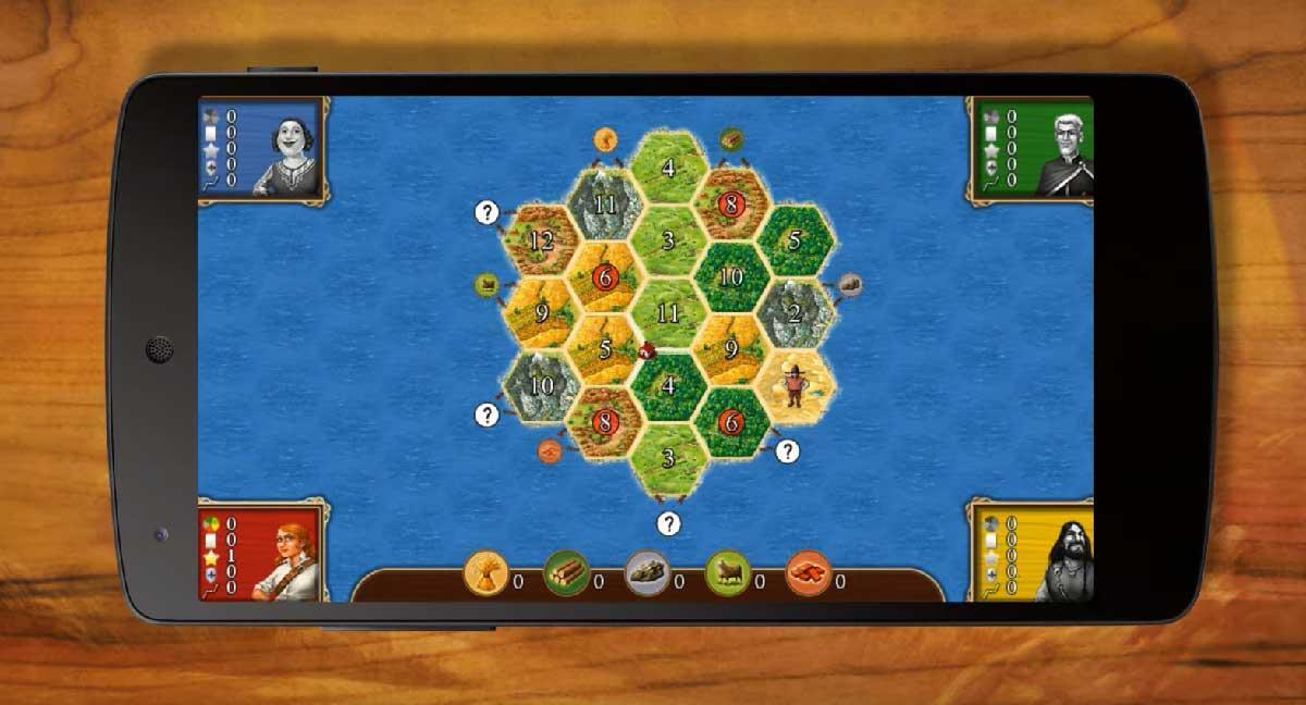 Catan - Juegos de mesa online