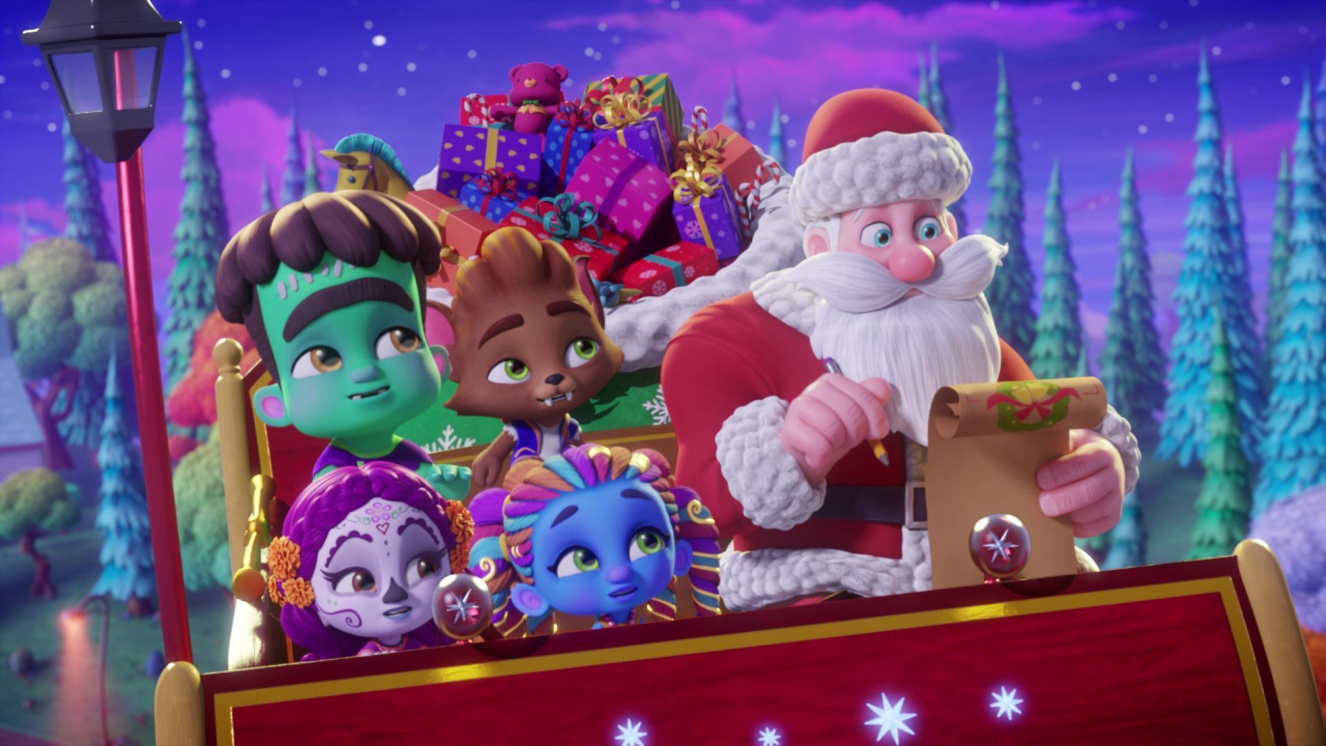 Los Supermonstruos salvan la Navidad - Dibujos animados