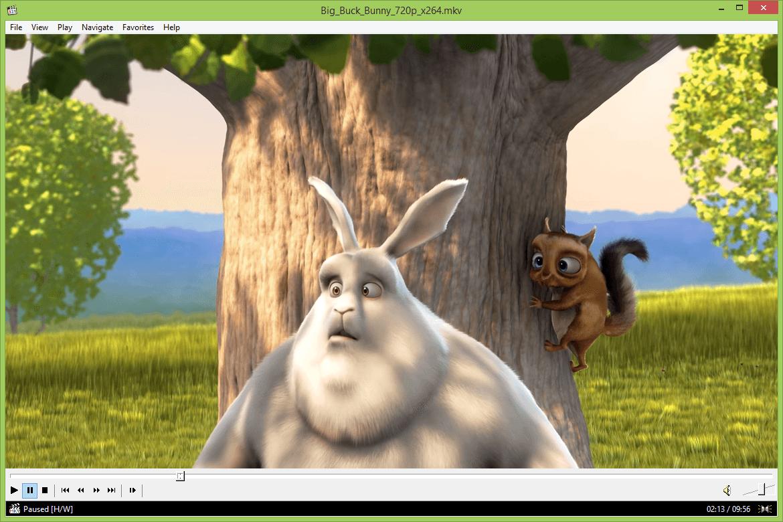 Media Player Classic - Reproductores de vídeo para Windows 10