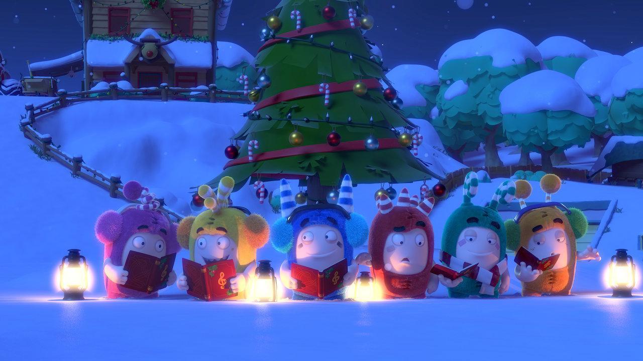 Oddbods Navidad en Peligro