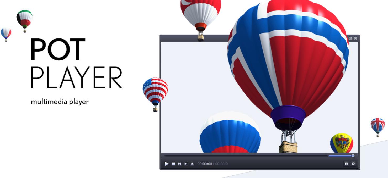 PotPlayer - Reproductores de video para Windows 10