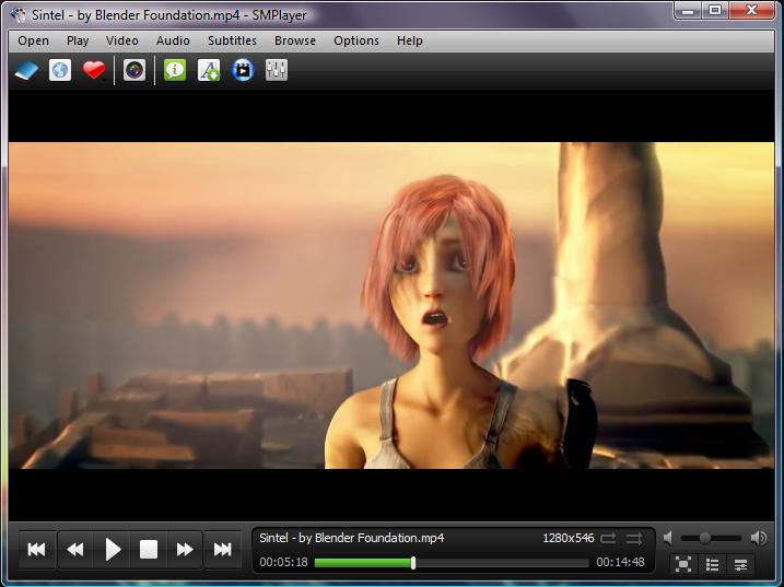 SMPlayer - reproductores de vídeo