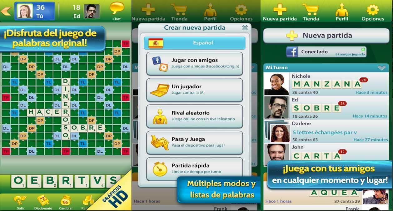 Scrabble - juegos de mesa online