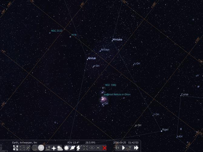 Stellarium - Programas astronomia