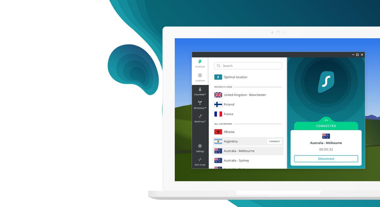 Surfshark - Mejores VPN