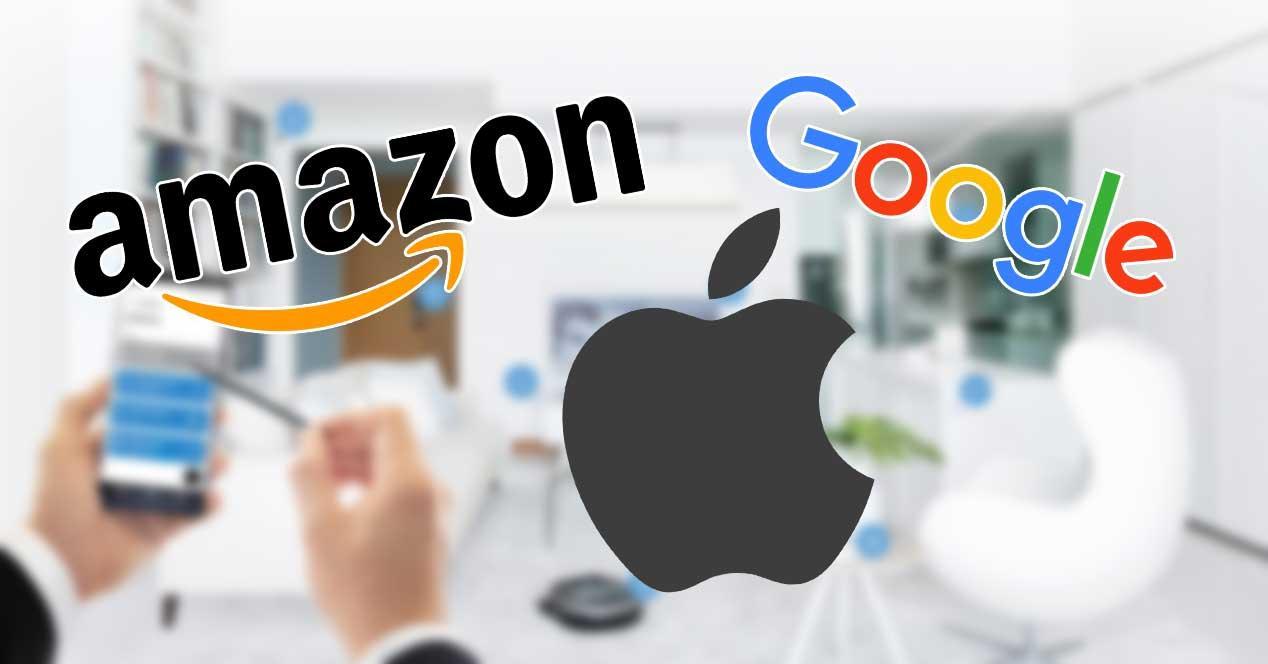 amazon google apple connecter home over ip smart