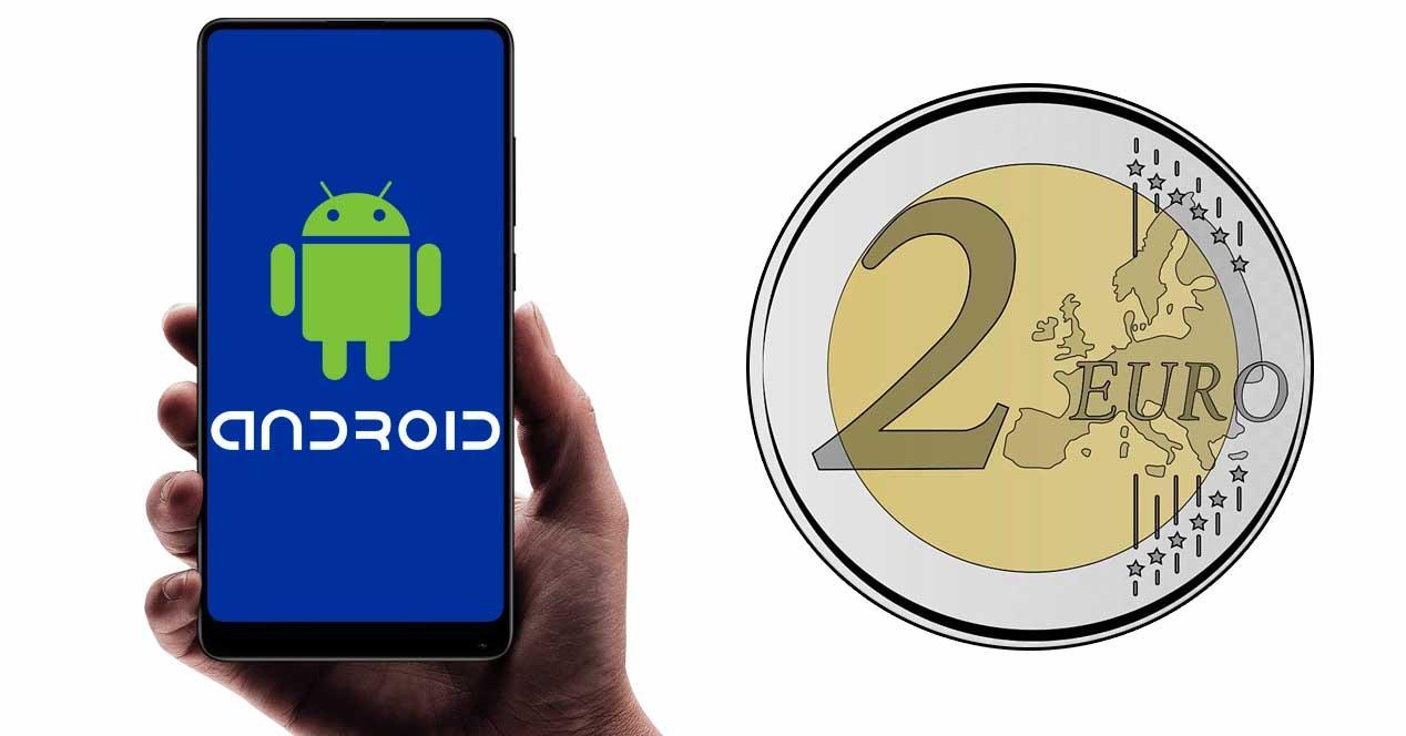 android 2 euros