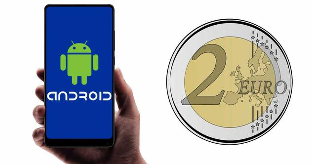 android 2 euros