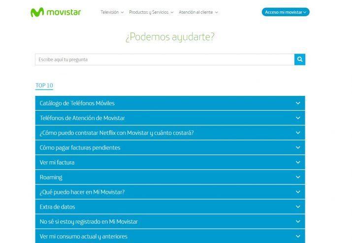 Ayuda Movistar
