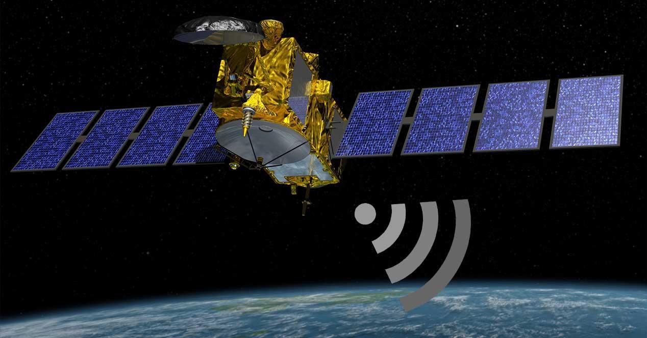 gps señal satelite