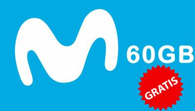 Movistar regala 60GB gratis a sus clientes