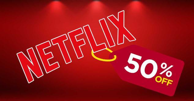 netflix 50% descuento