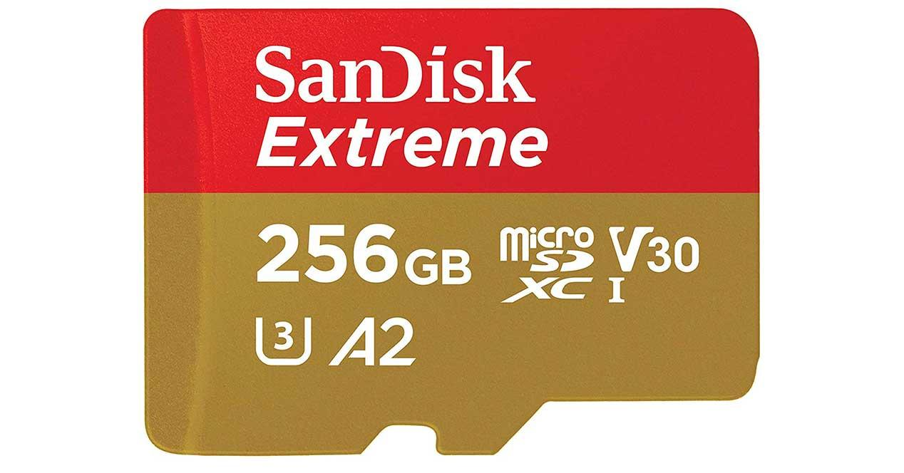 sandisk microsd 256 gb