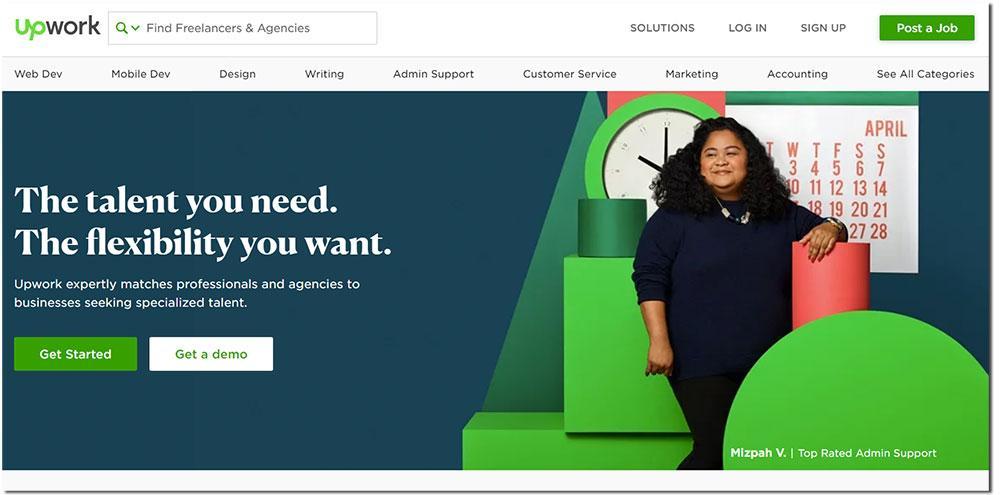 web freelance upwork