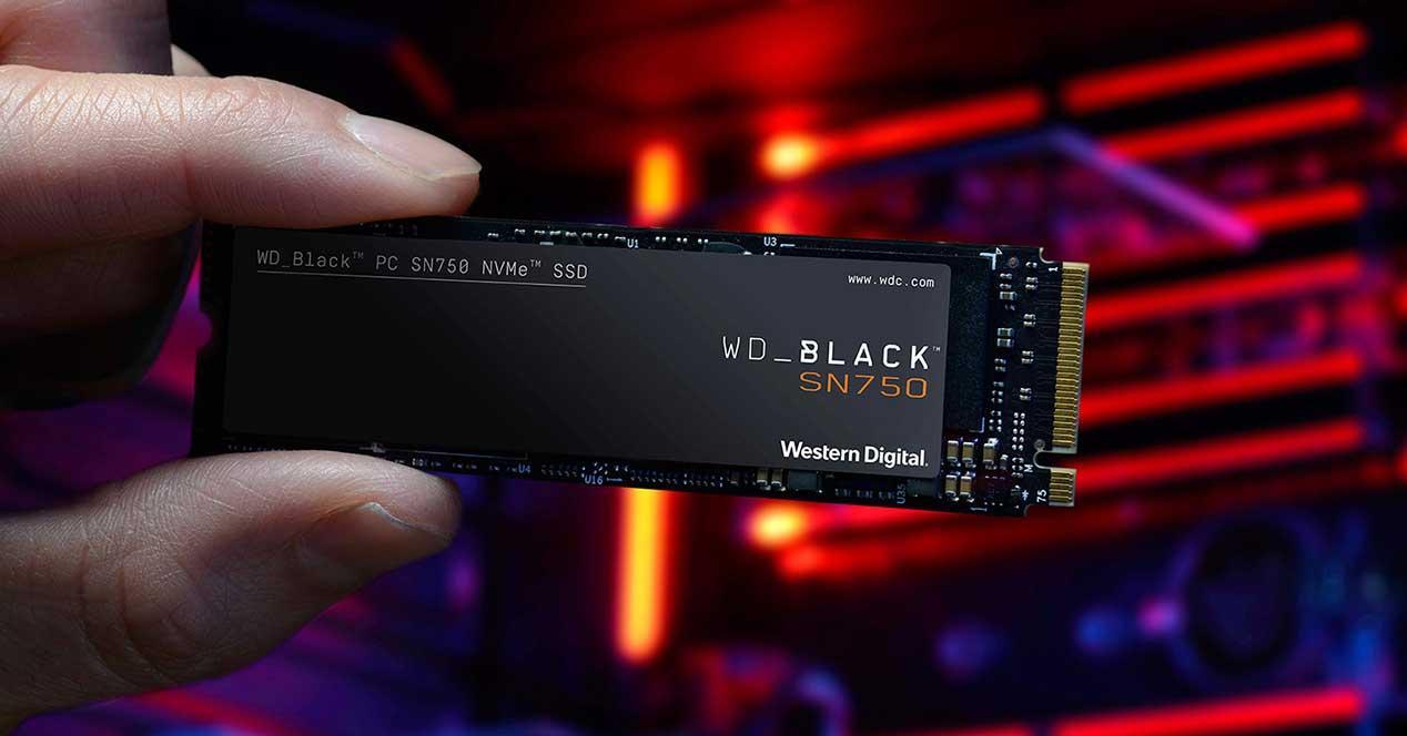 wd black sn750 ssd oferta amazon