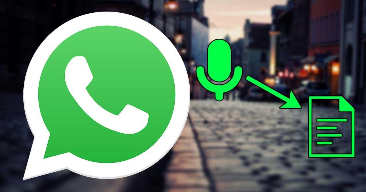 whatsapp convertir audio texto