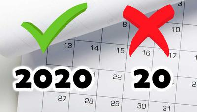 ¿Por qué debes escribir 2020 completo y no 20? El último mensaje viral de WhatsApp