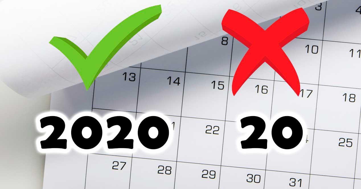 Ver noticia 'Noticia '¿Por qué debes escribir 2020 completo y no 20? El último mensaje viral de WhatsApp''