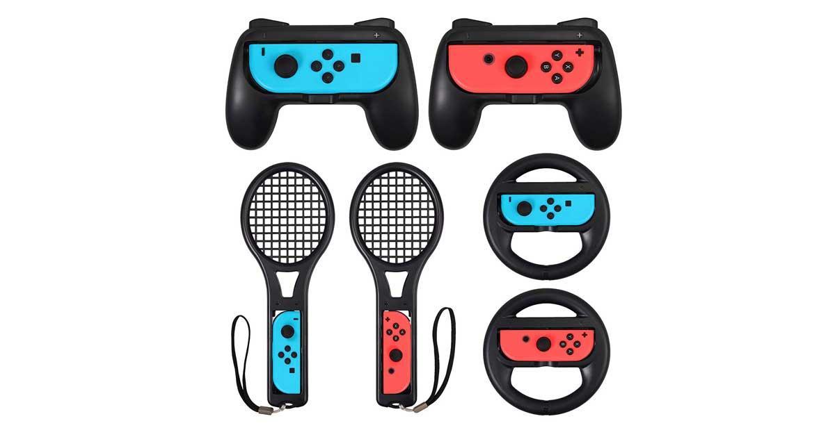 Accesorios para Nintendo Switch 3 en 1