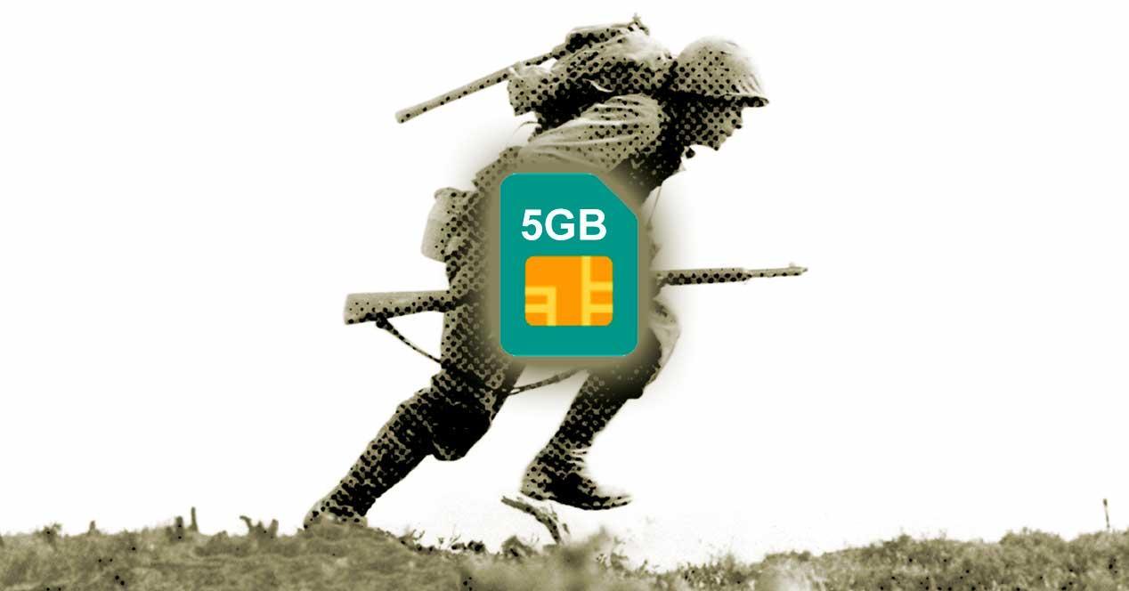 Ver noticia 'Noticia 'La nueva guerra de las operadoras pasa por ofrecer 5GB e ilimitadas por 10 euros''