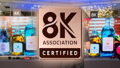 ¿Vas a comprar una tele 8K? Revisa que lleve este logo para evitar engaños