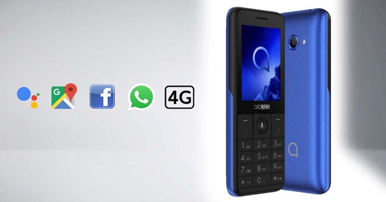 Ver noticia 'Noticia 'Alcatel 3088, un móvil con diseño clásico sin renunciar a las últimas tecnologías por 65€''