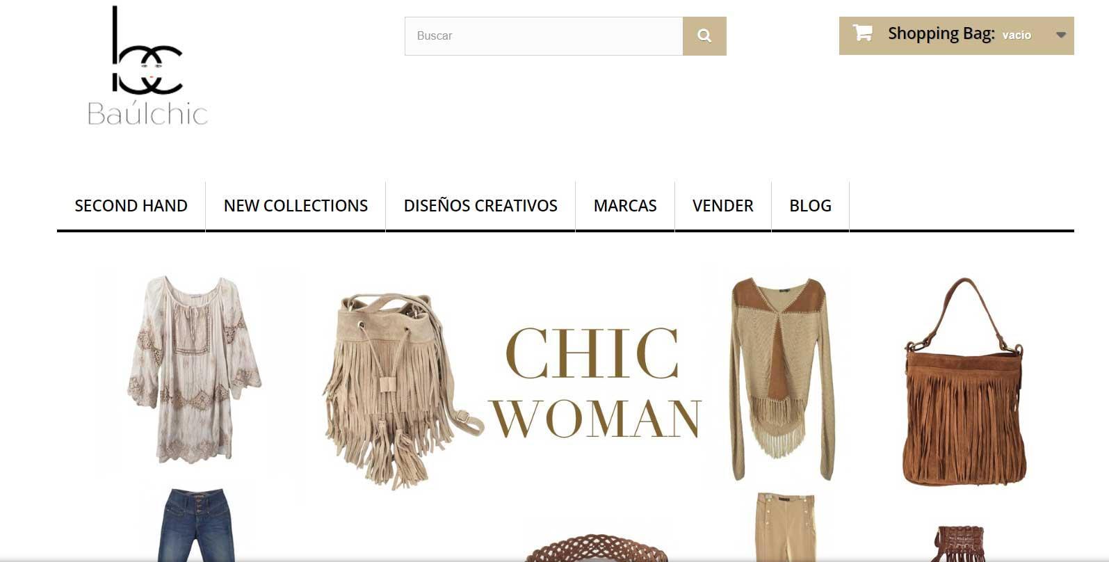 Baul Chic - Mejores webs para vender ropa
