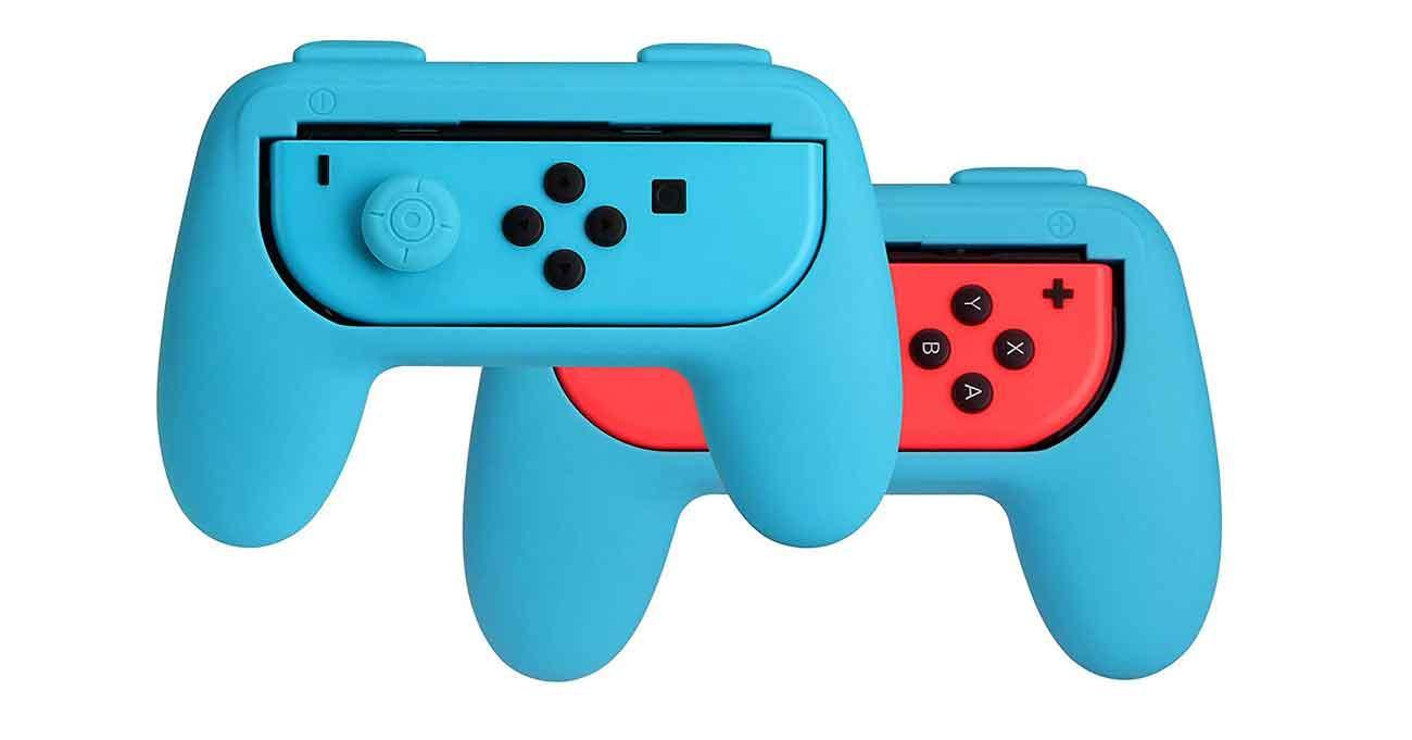 Empuñaduras Nintendo Switch