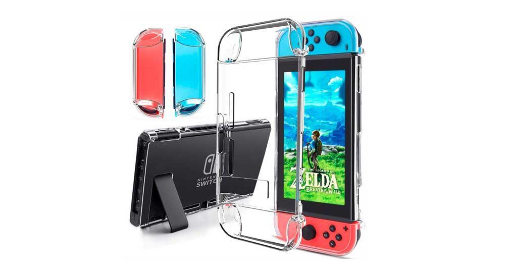 Funda transparente - Mejores accesorios para Nintendo Switch