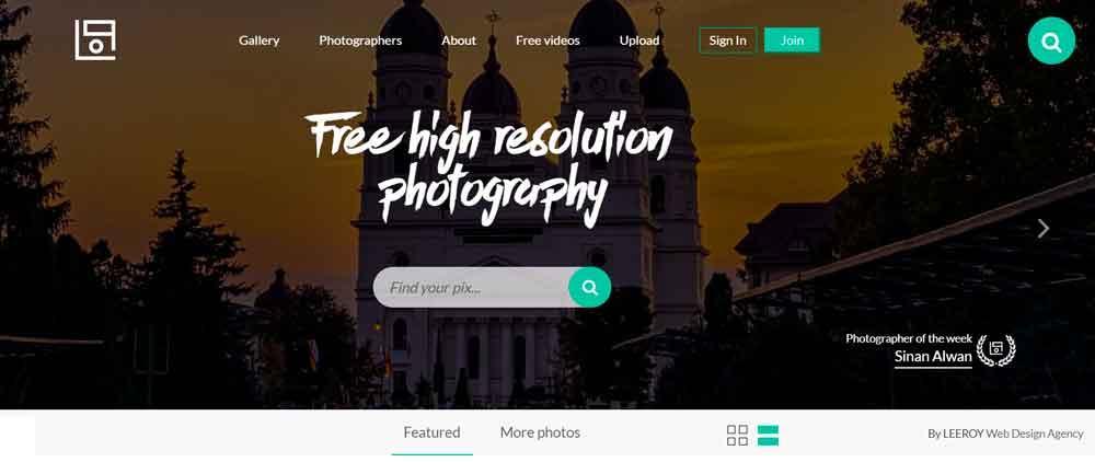 Descargar fotos gratis en LifeofPix