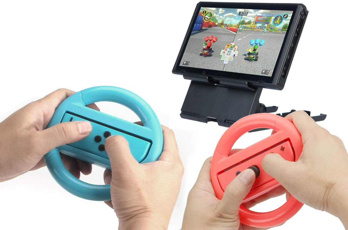 Mejores accesorios Nintendo Switch - Volante Basics