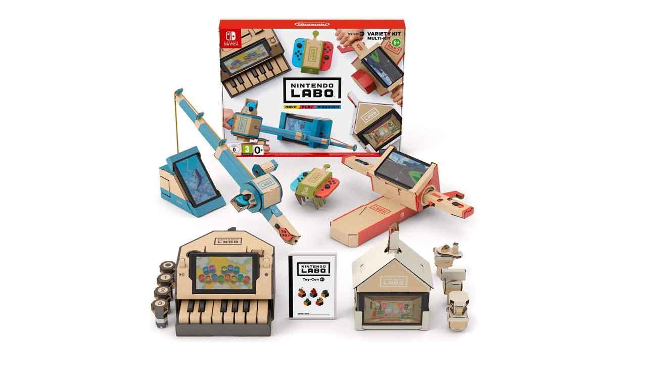 Accesorios Nintendo Switch: Nintendo Labo