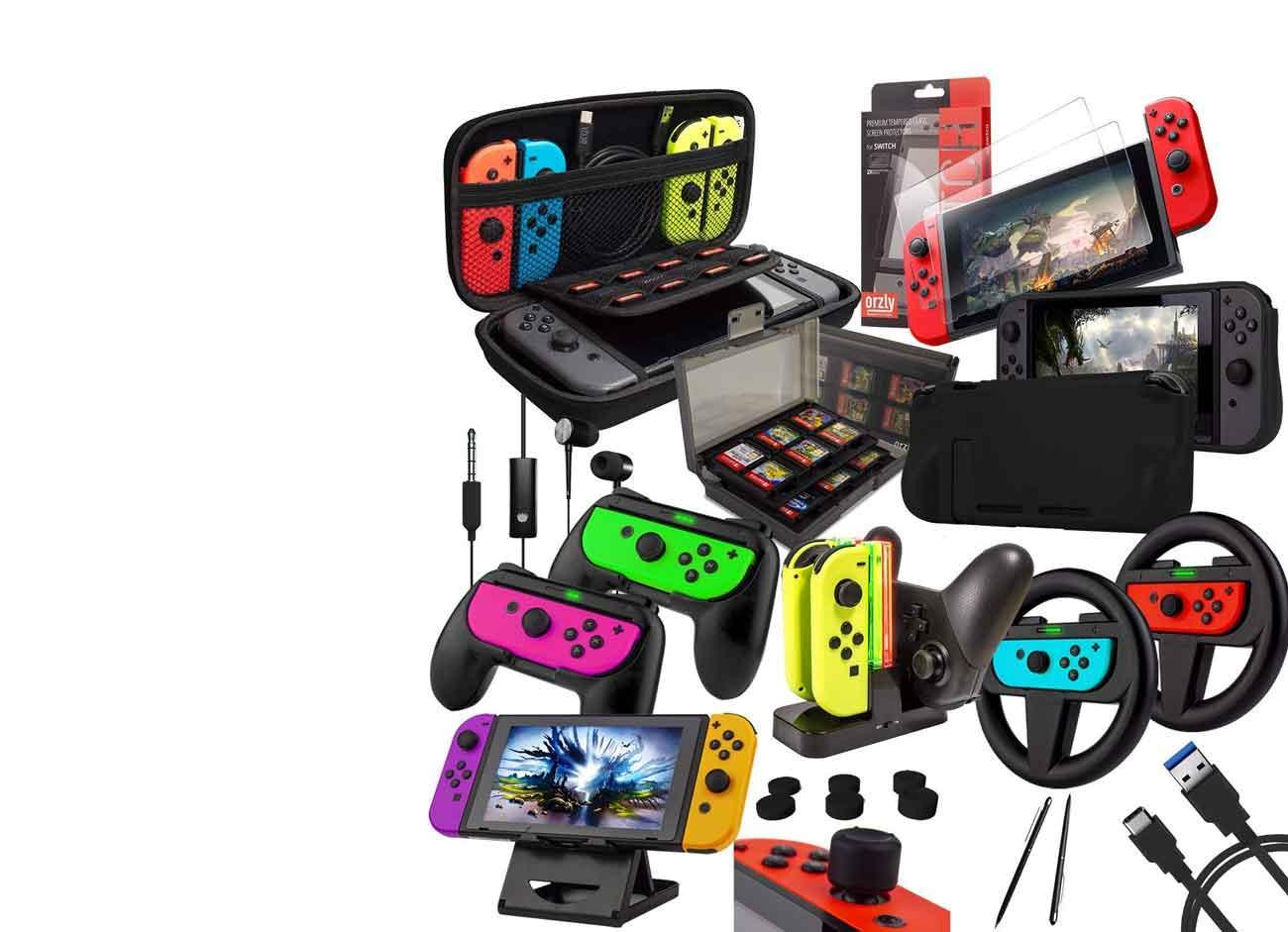 Pack de accesorios para Nintendo Switch