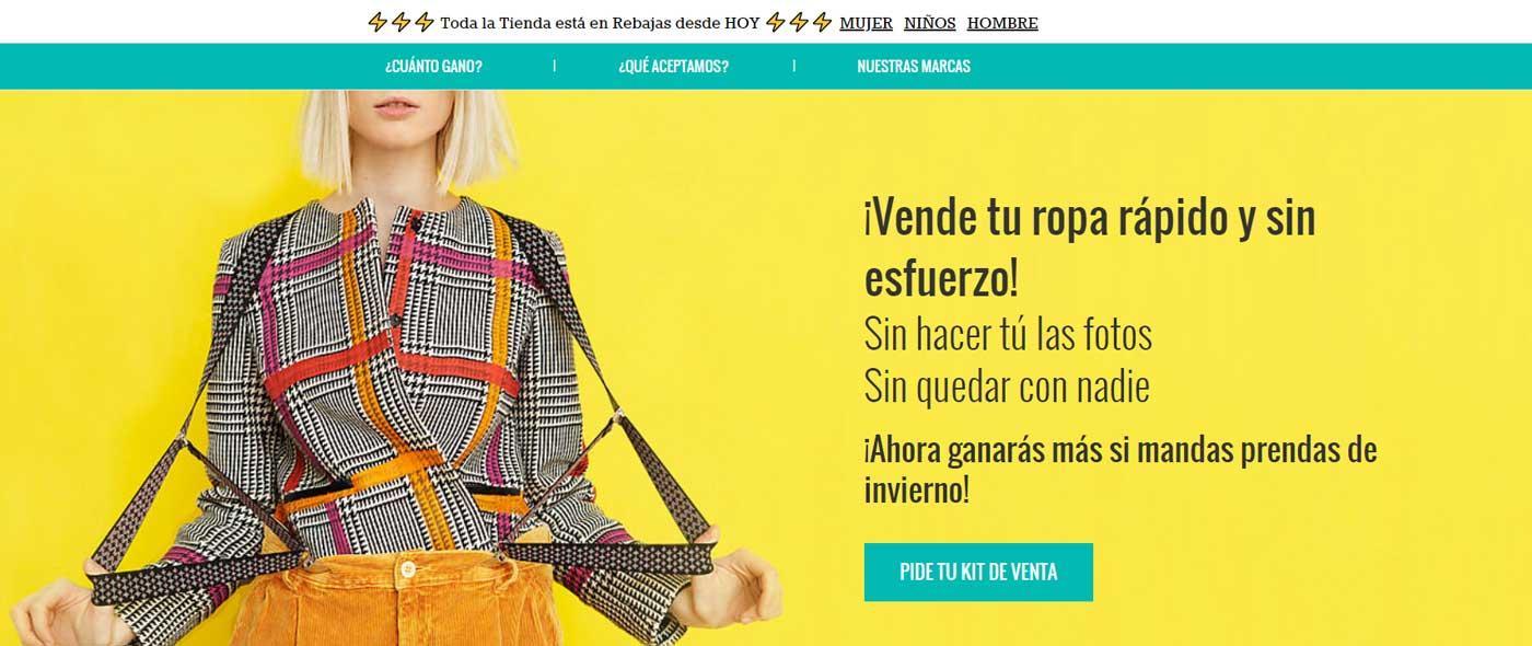 Percentil - ejores webs para vender ropa