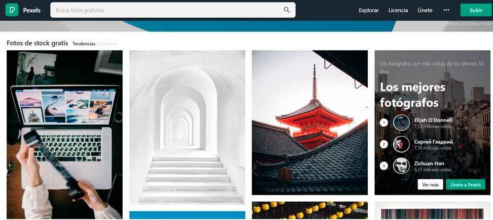Pexels Descargar fotos gratis