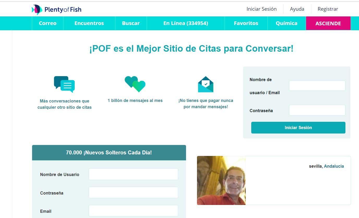 PoF  - webs de citas