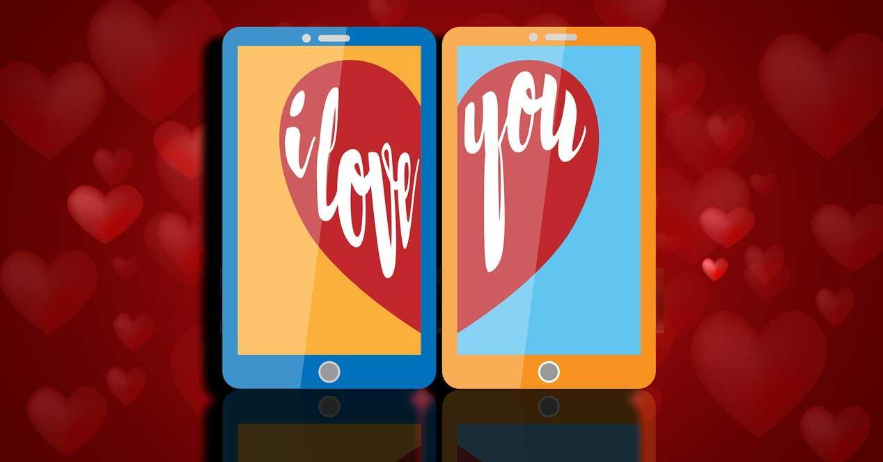 Webs de citas y apps parejas