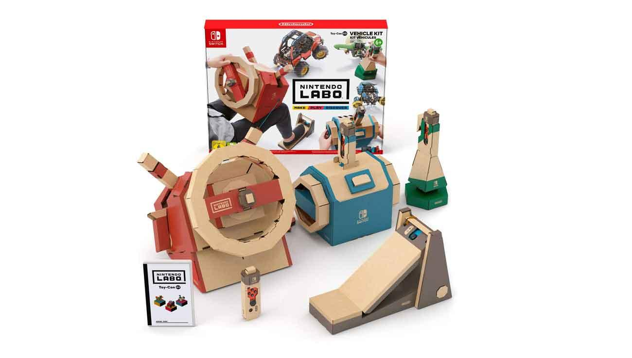Accesorios Nintendo Switch: Toy Kit Labo